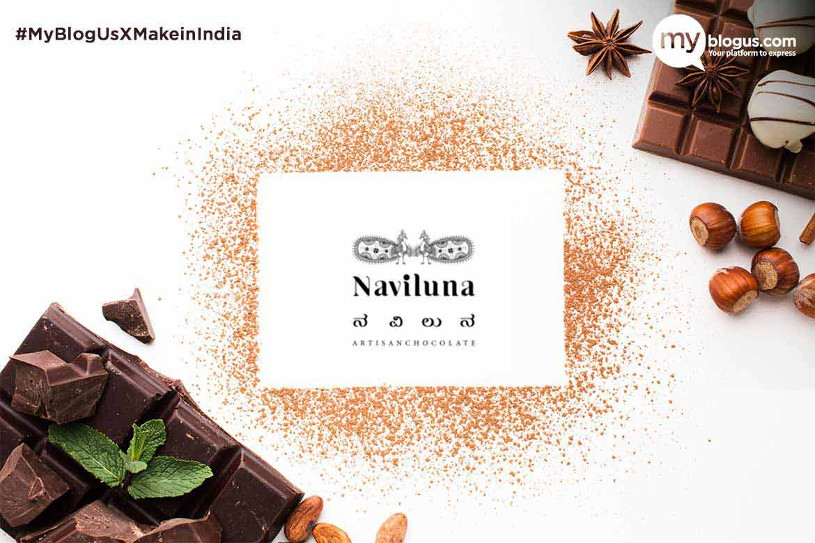 Naviluna Artisan Chocolate (Earth Loaf) Homegrown Chocolate Brand