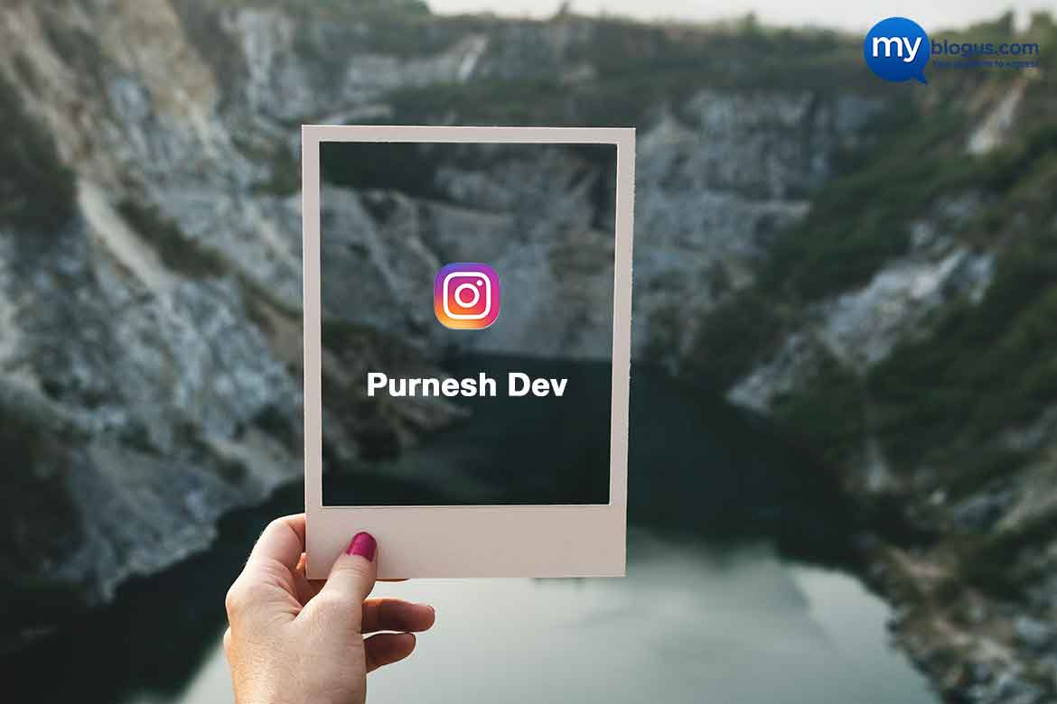 Purnesh Dev - Photographer