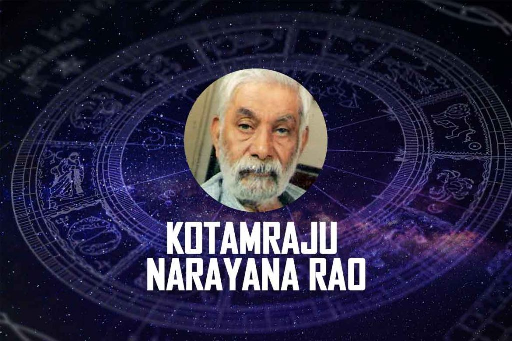 Astrologers in India - Kotamraju Narayana Rao