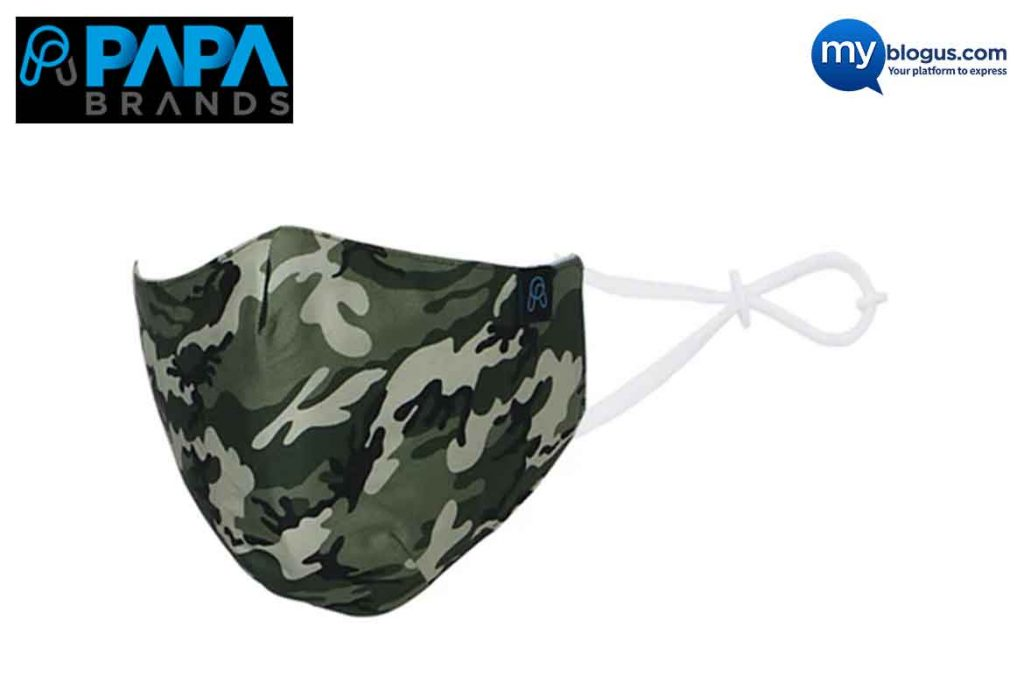 Made in India Mask - PAPA Brands Inc