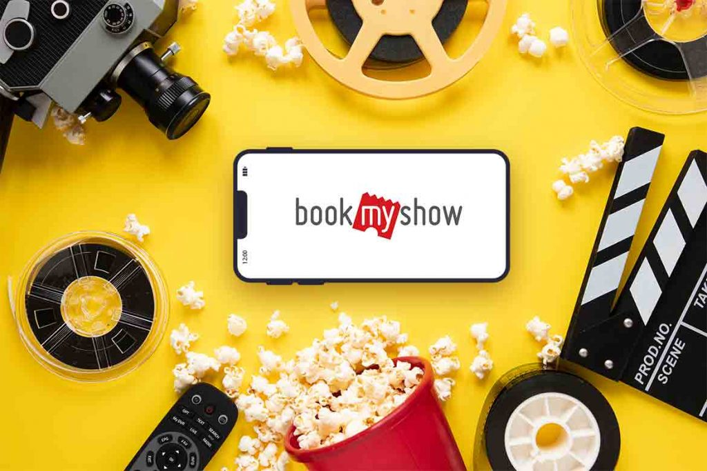 Made in India Entertainment App - BookMyShow
