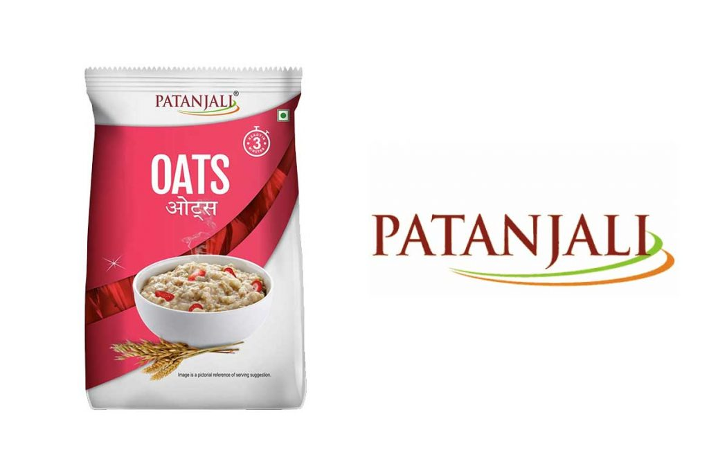 Made In India Oats Brands - Patanjali Oats
