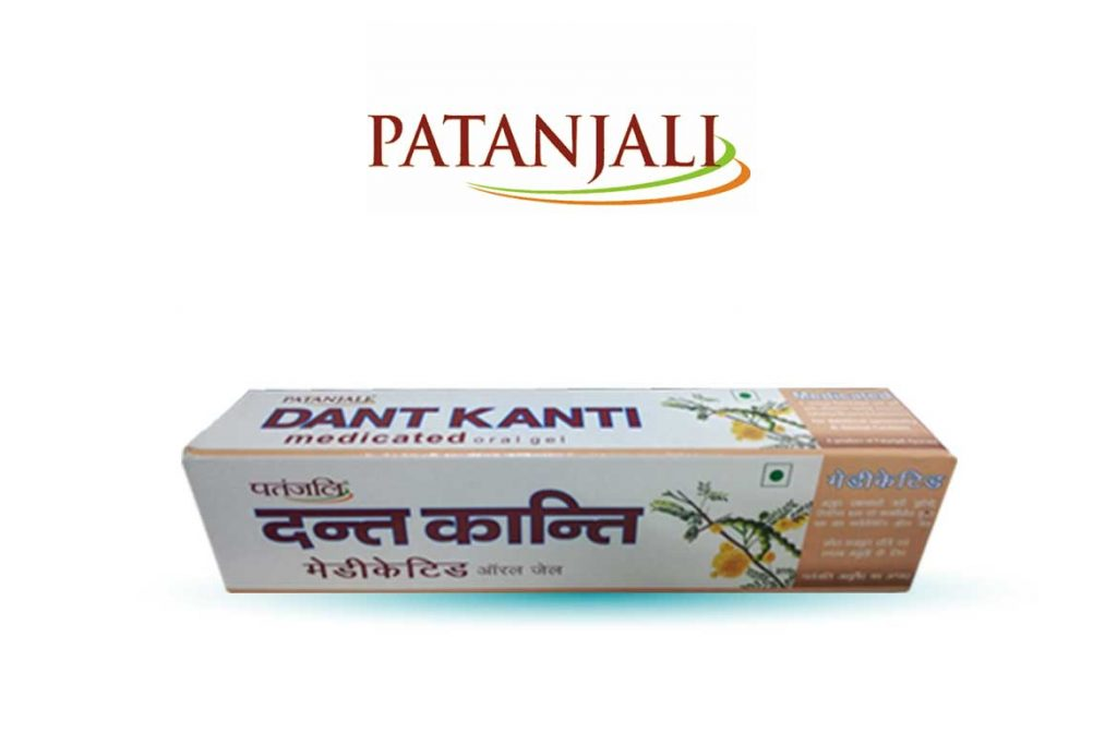 INDIAN TOOTHPASTE BRANDS - PATANJALI DANT MEDICATED ORAL GEL