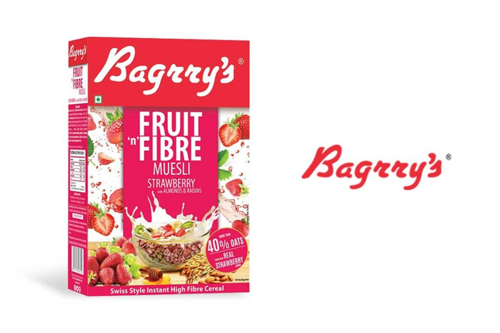 Made In India Oats Brands - Bagrry's Oats