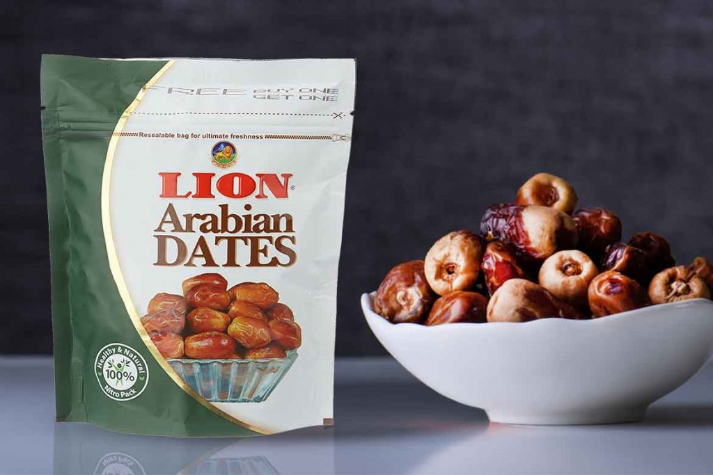 INDIAN DATES BRAND - LION DATES