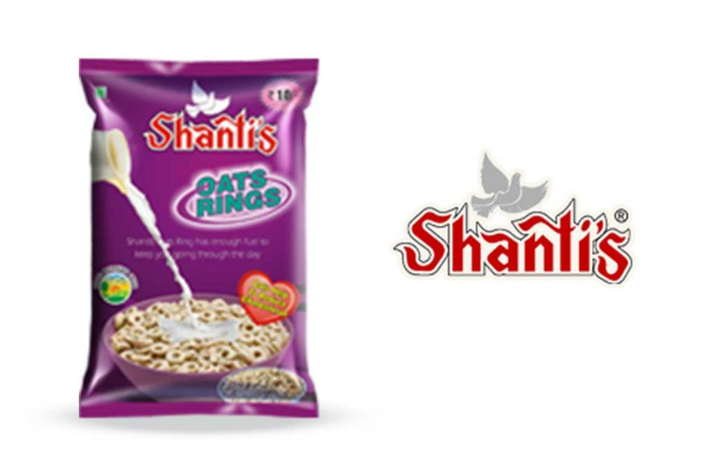 Made In India Oats Brands - Australia Shanti's Rolled Oats