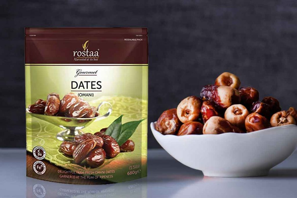 INDIAN DATES BRAND - ROSTAA