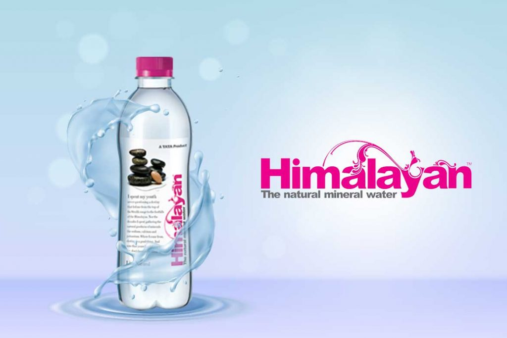 Indian Bottled Water Brands - Himalayan Natural Mineral Water