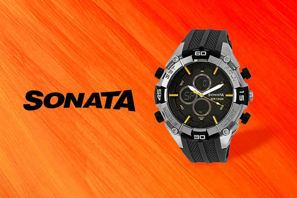 Made In India Watch Brand - Sonata