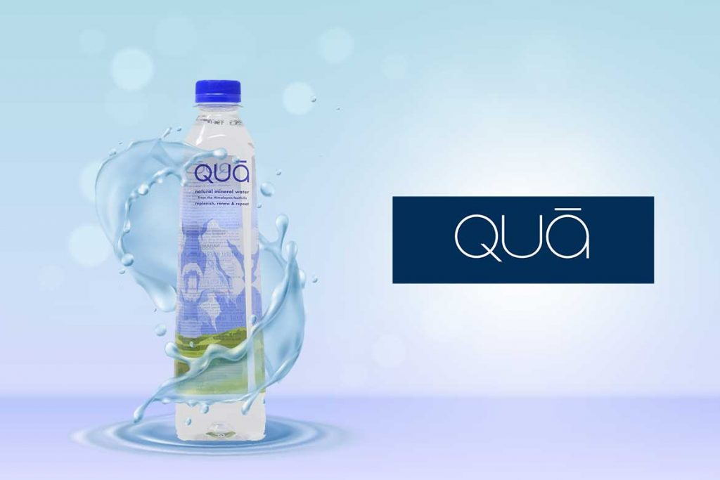 Indian Bottled Water Brands - Qua Water