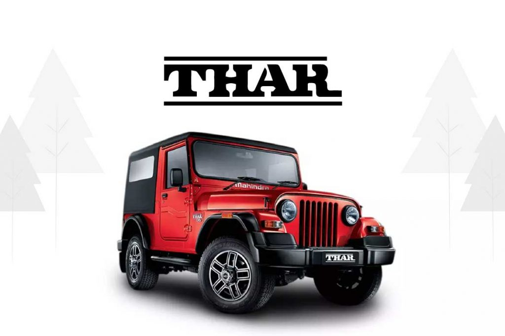 Made In India Cars - Thar