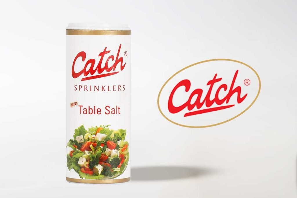 Made in India Salt Brands - Catch, iodised table salt