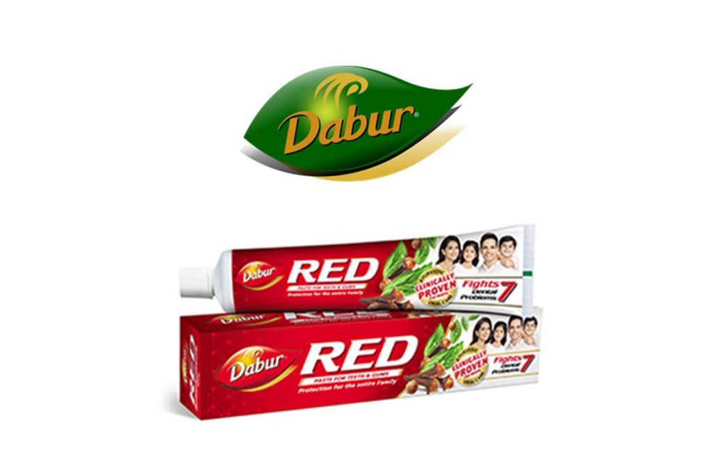 INDIAN TOOTHPASTE BRANDS - DABUR RED TOOTHPASTE
