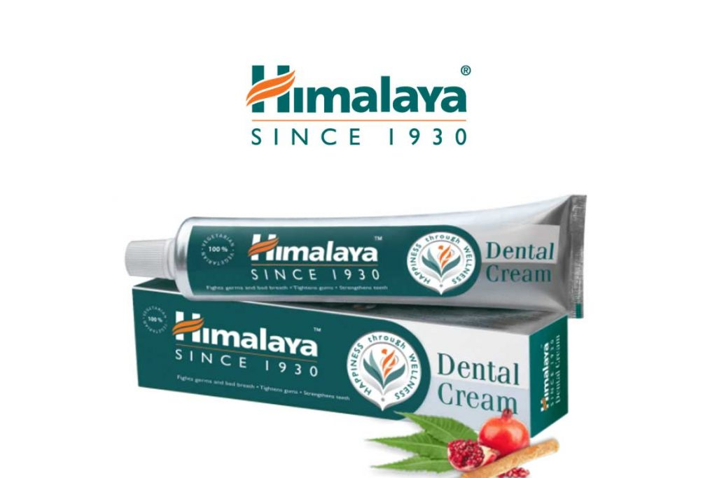 INDIAN TOOTHPASTE BRANDS - HIMALAYA HERBALS DENTAL CREAM