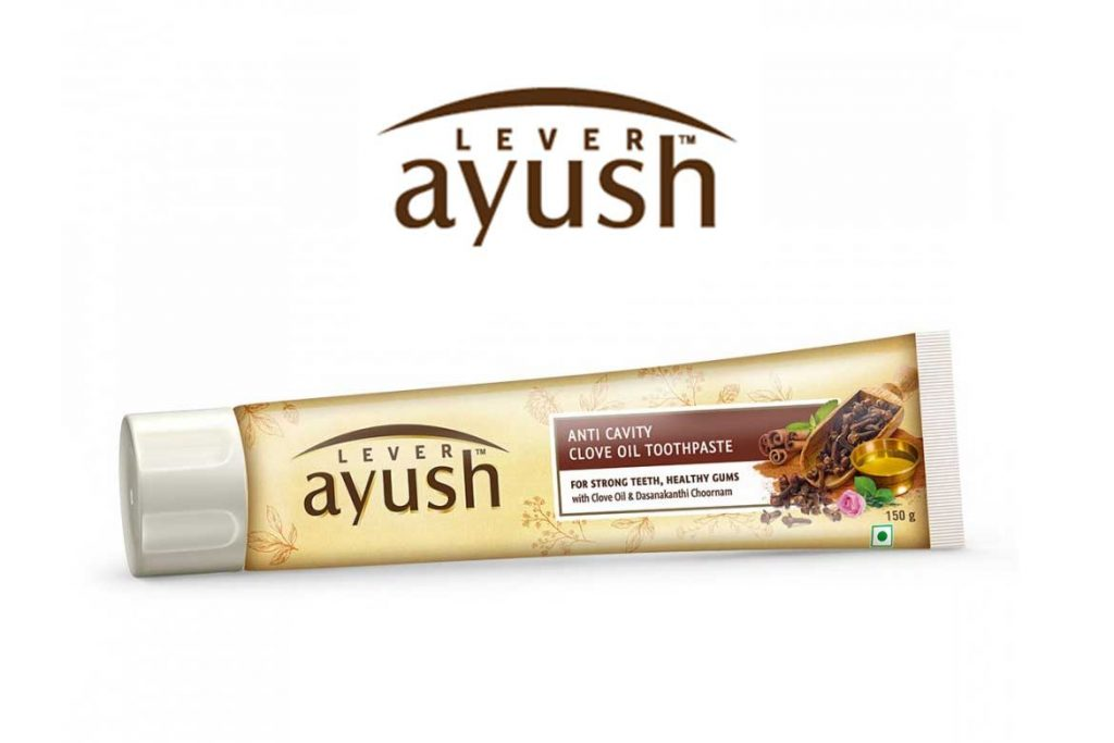 INDIAN TOOTHPASTE BRANDS - LEVER AYUSH