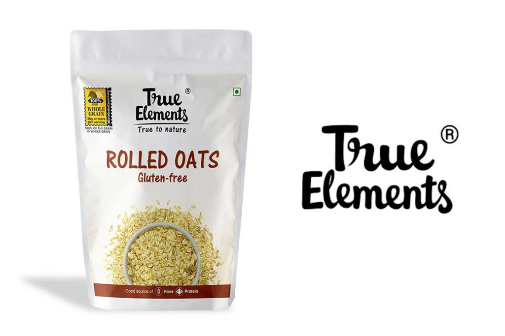 Made In India Oats Brands - True Elements Rolled Oats