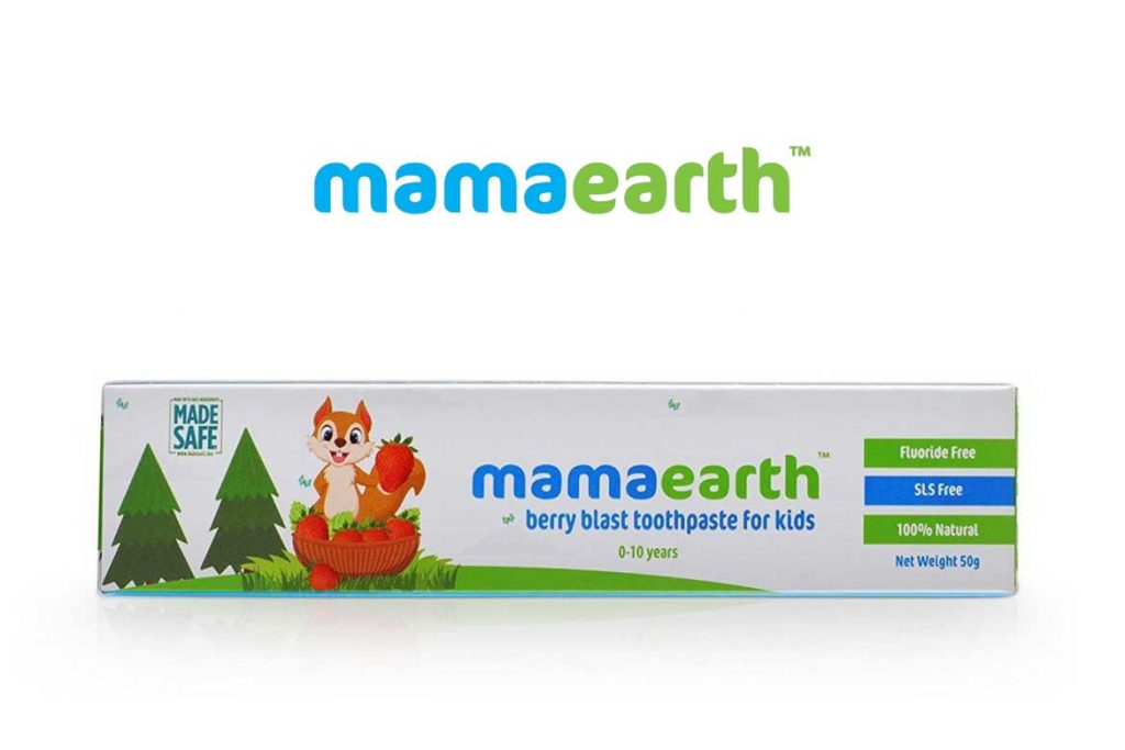 INDIAN TOOTHPASTE BRANDS - MAMAEARTH NATURAL TOOTHPASTE