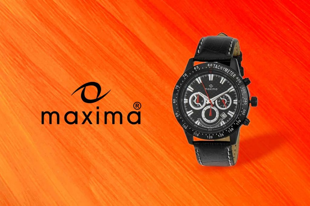 Made In India Watch Brand - Maxima