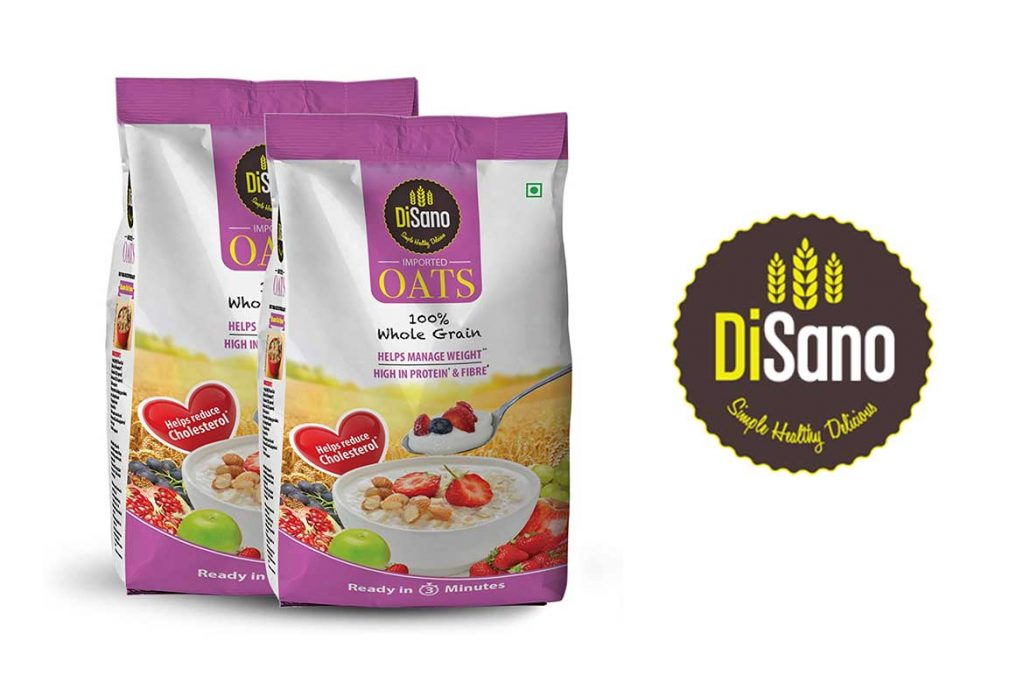 Made In India Oats Brands - DiSano High Protein Oats