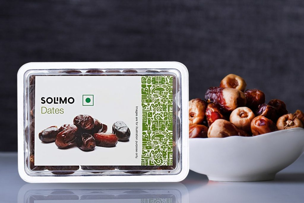 INDIAN DATES BRAND - AMAZON BRAND SOLIMO DATES
