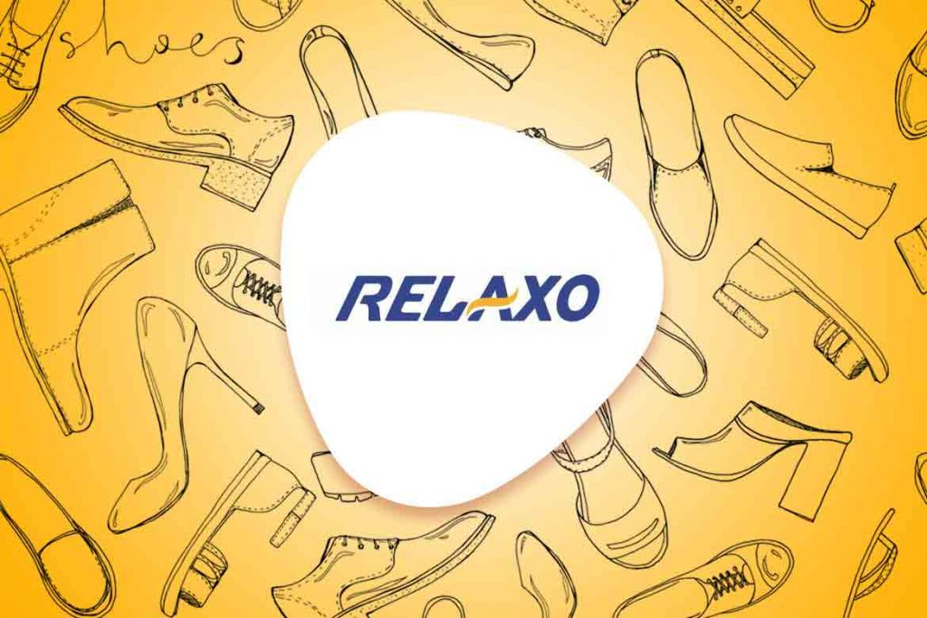 Relaxo logo made in India
