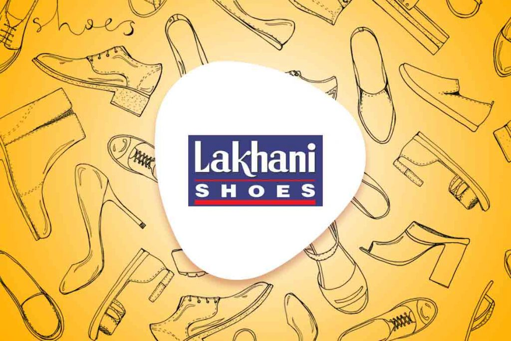 Lakhani shoes logo made in India