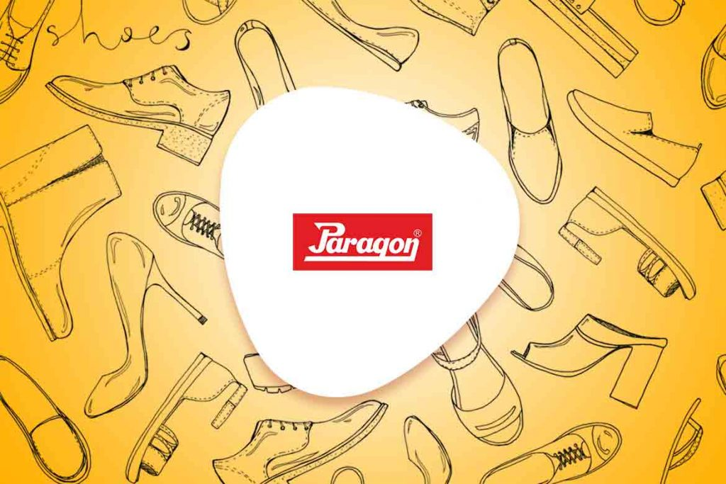 paragon shoes logo made in India